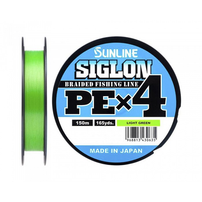 Плетёный шнур Sunline SIGLON PEx4 Light Green