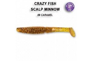 Виброхвост Crazy Fish SCALP MINNOW 4