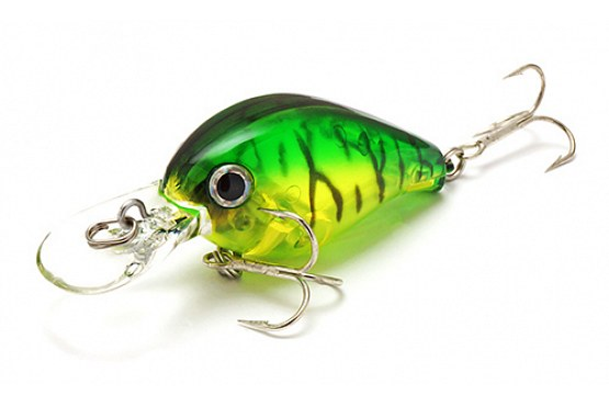 Воблер Lucky Craft Clutch MR 5412 Lime Chart Tiger 952
