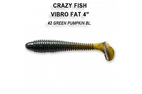 Виброхвост Crazy Fish VIBRO FAT 4'' 14-10-42-6