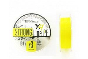 Плетеный шнур Mottomo Strong Line PE #3.0/14kg 150m Fluo Yellow