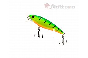 Воблер Mottomo Bang Minnow 65F 6,3g Lime Tiger