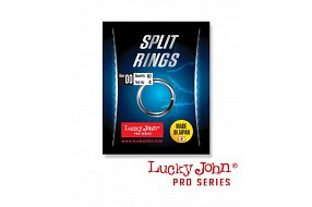 Кольца LJ Pro Series SPLIT RINGS 04.4мм/04.6кг (5шт)