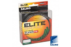 Плетеный шнур Salmo ELITE BRAID Green 125/033