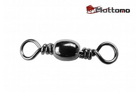Вертлюг Mottomo Barrel Swivel №6 10 шт.