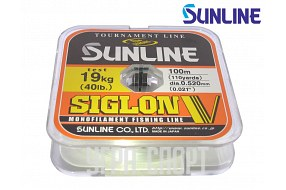 Леска Sunline SIGLON V 100m Clear 0.520mm 19kg
