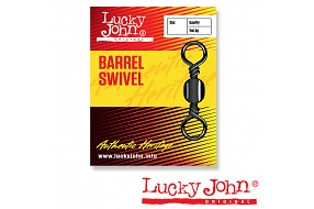 Вертлюги LJ BARREL SWIVEL №018 (10шт.)