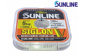 Леска Sunline SIGLON V 100m Clear 0.235mm 5kg