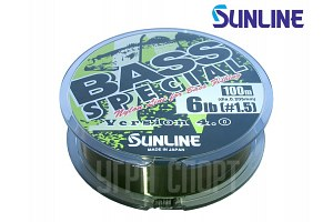 Леска Sunline Bass Special 100m Jungle Green 0.205mm 3kg