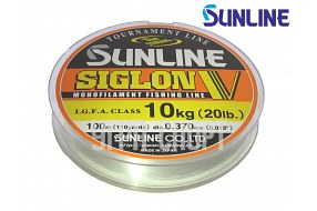 Леска Sunline SIGLON V 100m Clear 0.370 mm 10kg
