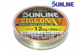 Леска Sunline SIGLON V 100m Clear 0.405mm 12kg