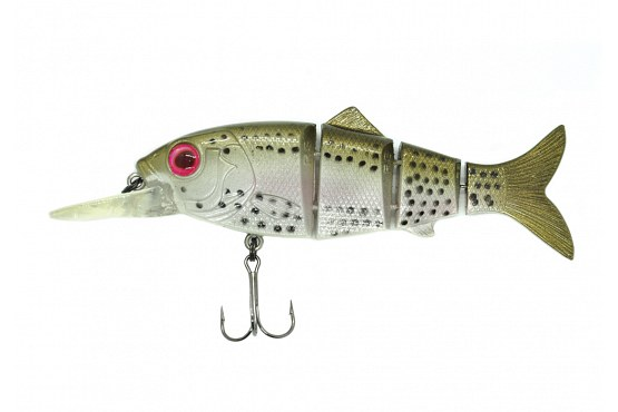 "Свимбейт Reaction Strike Revolution Shad 4"" (10,2 см) 18,4 г Susp Ghost Rainbow Trout"