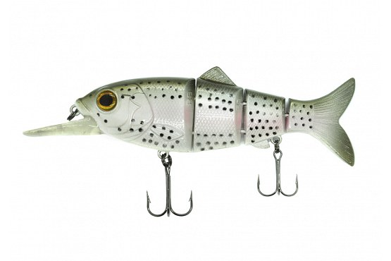 "Свимбейт Reaction Strike Revolution Shad 5"" (12,7 см) 36,9 г Susp Ghost Rainbow Trout"