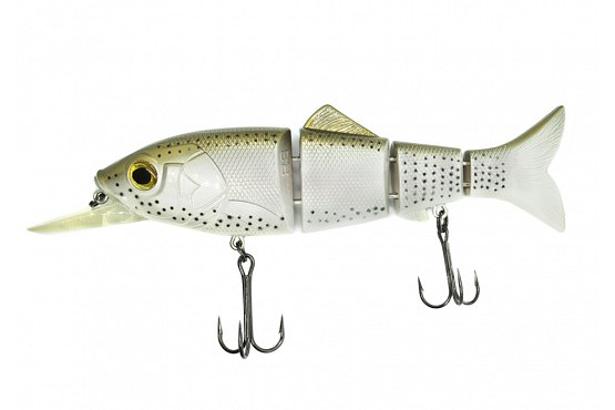 "Свимбейт Reaction Strike Revolution Shad 9"" (22,9 см) 106,3 г Susp Ghost Rainbow Trout"