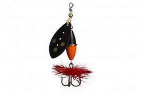 Блесна Myran Wipp 10gr Black Orange/Black