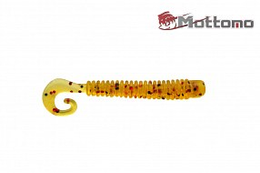 Твистер Mottomo Jim Worm 6,2см Green Pumpkin 6шт.