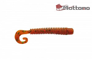 Твистер Mottomo Jim Worm 6,2см Orange Oil Flake 6шт.